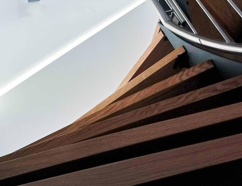 Fertigung und Montage von Holztreppen