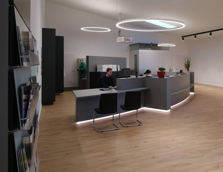 Fertigung Büromöbel