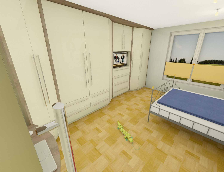 Möbelplanung Schlafzimmer